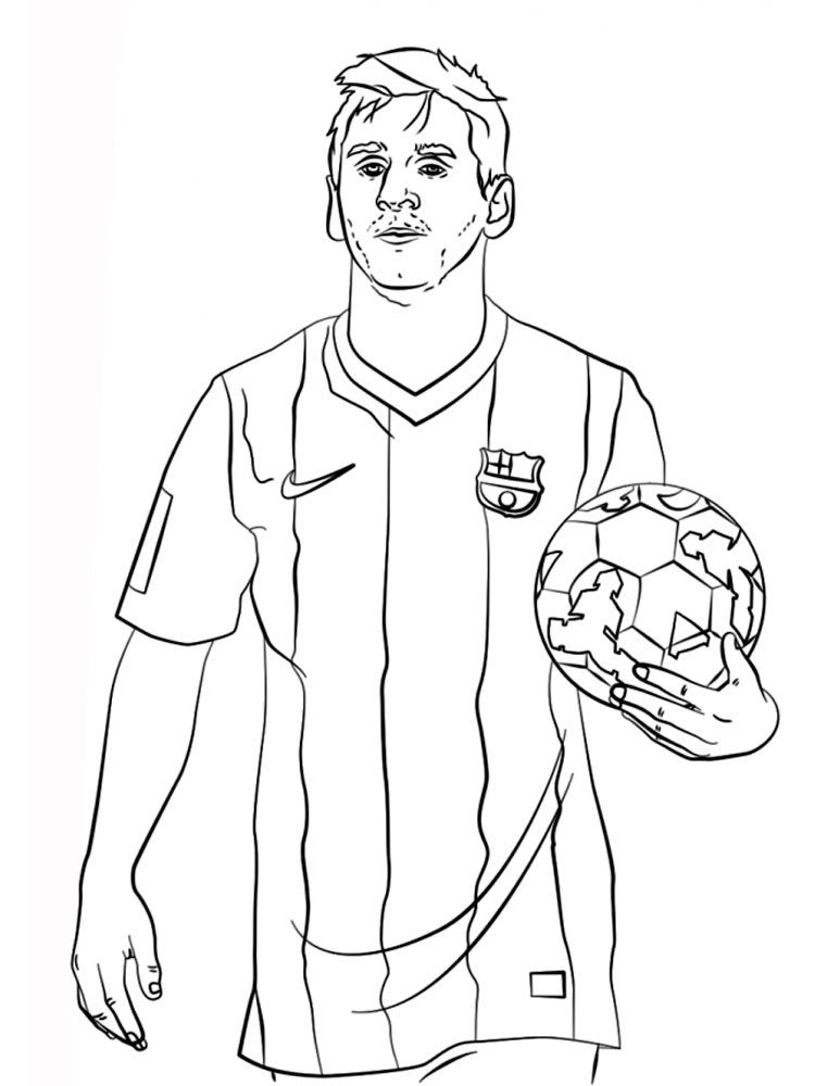 Fc Barcelona Coloring Pages Download And Print Fc