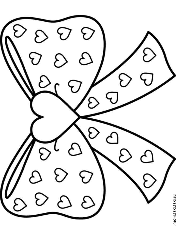 Amazing Christmas Bows Coloring Pages With Cute Christmas Bow Coloring Page