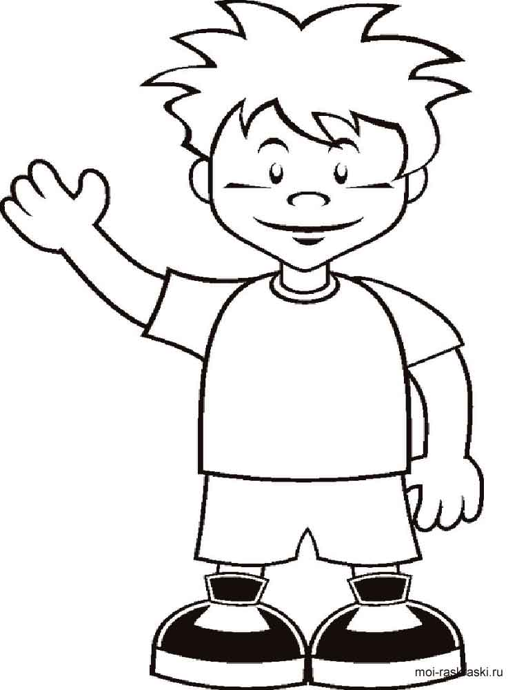 Boy coloring pages free printable boy coloring pages for Boy coloring pages to print