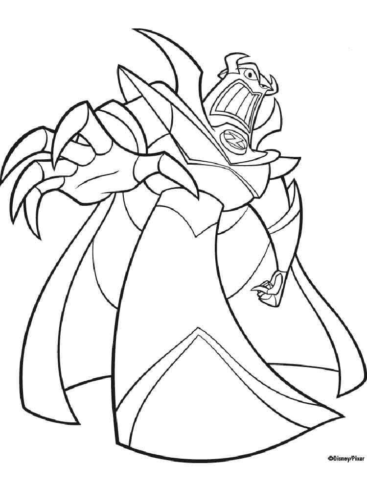 buzz and zurg coloring pages free printable buzz and zurg coloring pages. Black Bedroom Furniture Sets. Home Design Ideas