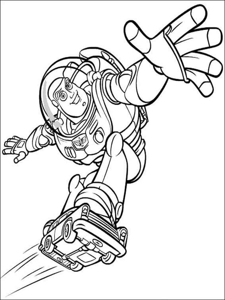Buzz And Zurg Coloring Pages Free Printable Buzz And Zurg