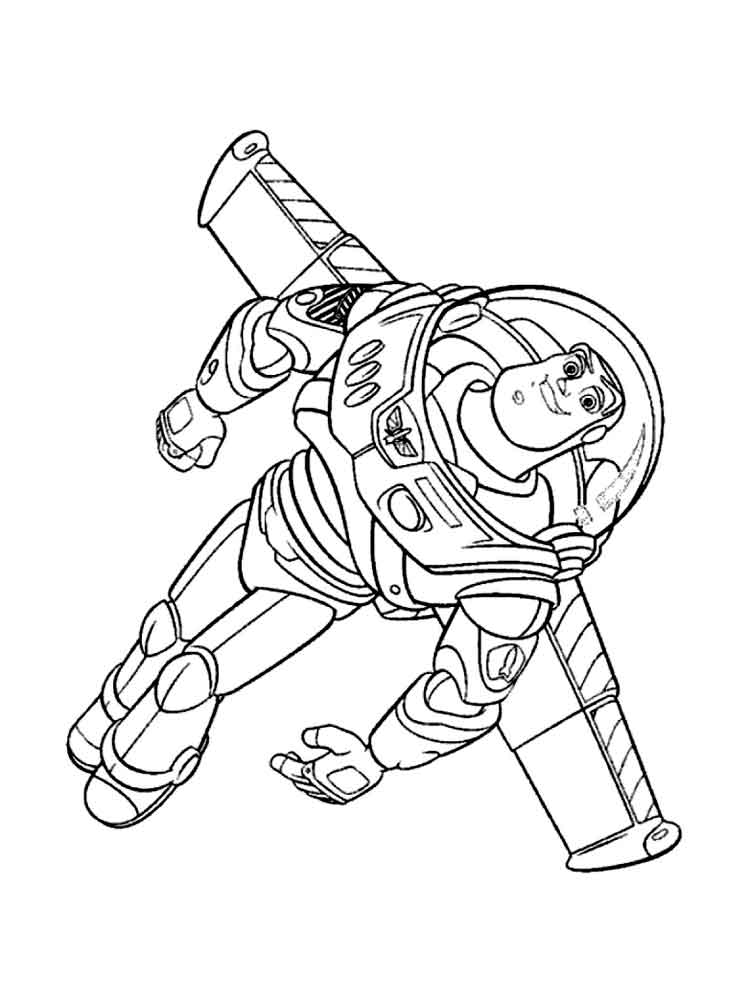 free coloring pages of buzz lightyear | Buzz Lightyear coloring pages. Free Printable Buzz ...
