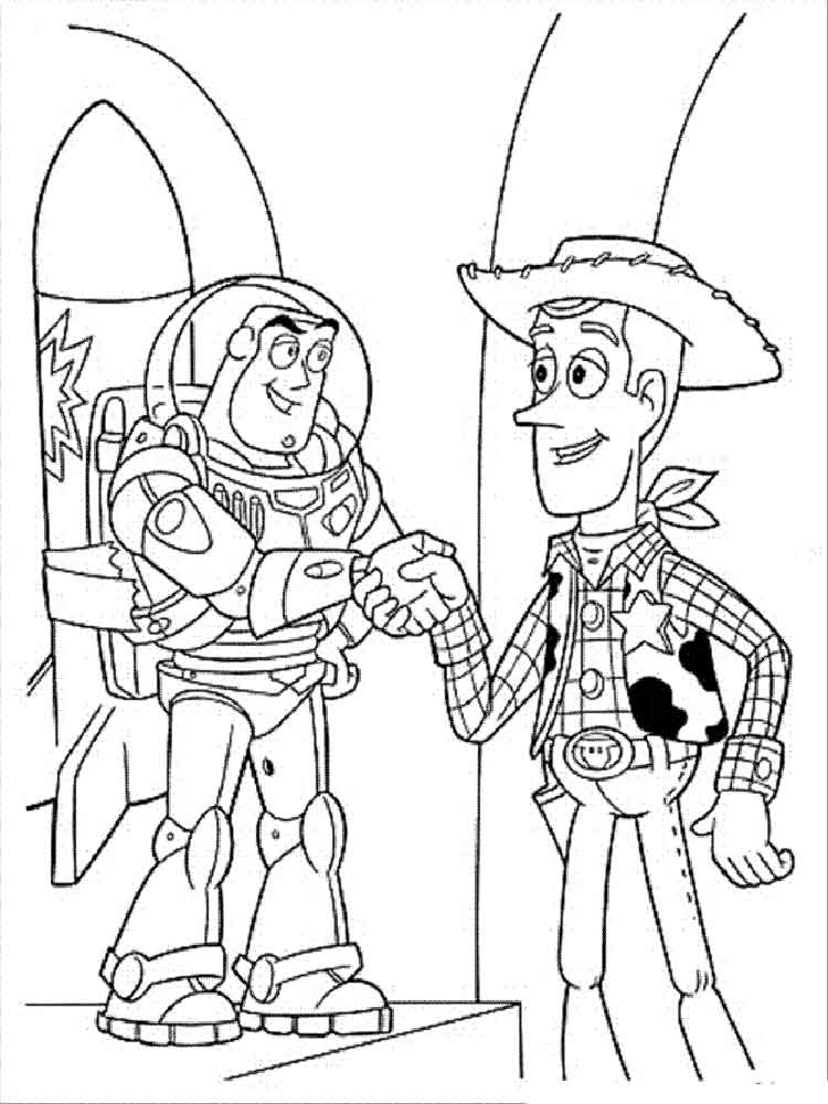 Buzz Lightyear coloring pages. Free Printable Buzz Lightyear ...