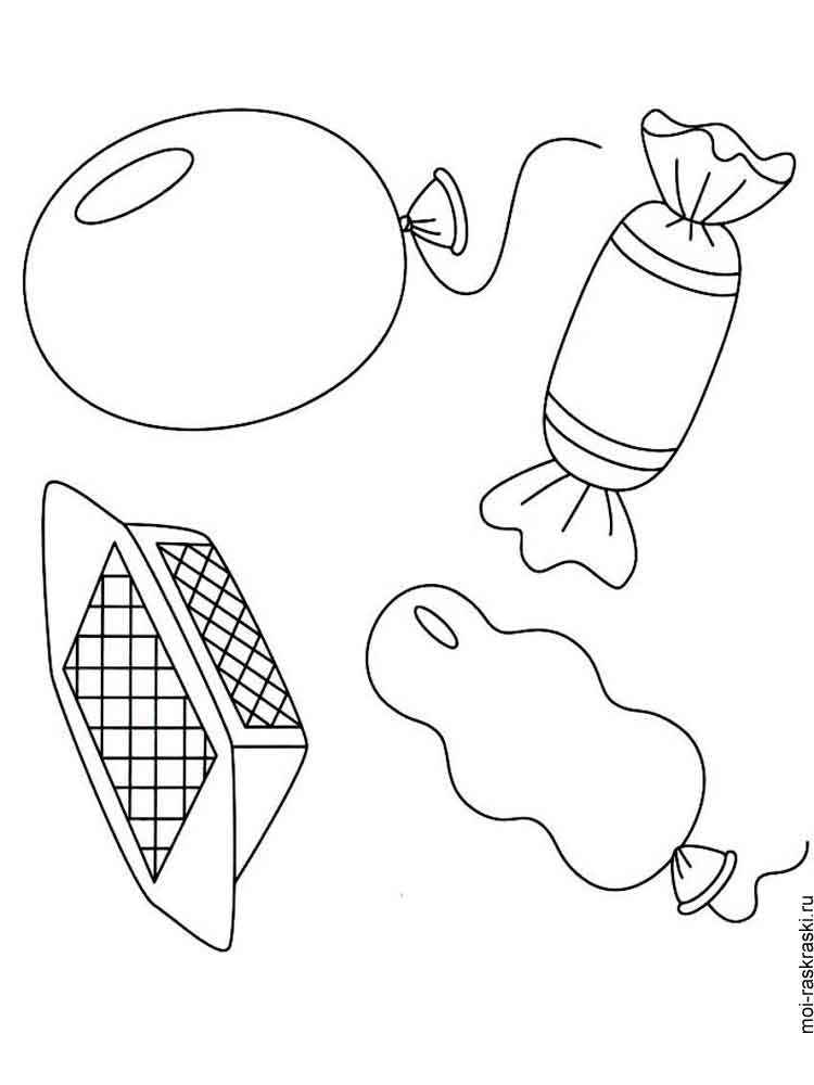 Candy coloring pages. Free Printable Candy coloring pages.