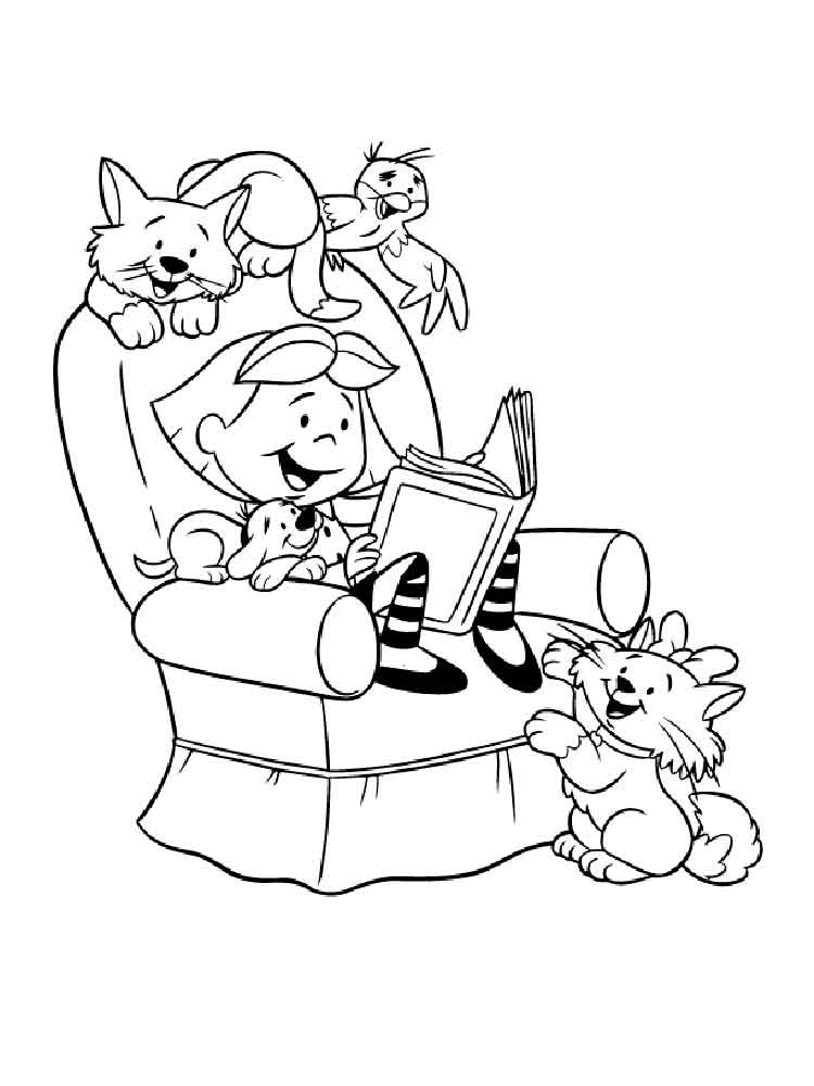 Clifford coloring pages free printable clifford coloring for Clifford coloring pages