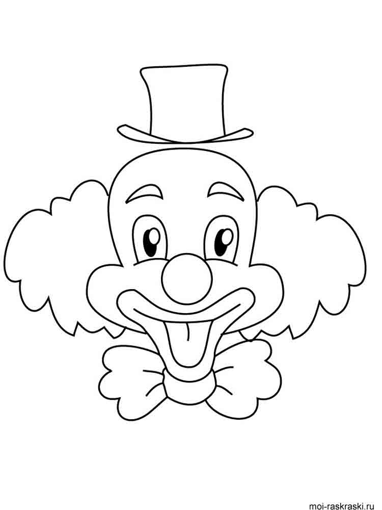 clown coloring pages 2 - Clown Coloring Pages 2