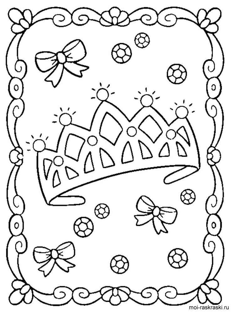 crown coloring pages 13