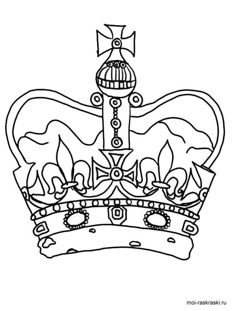 coloring pages crown - crown coloring pages free printable crown coloring pages