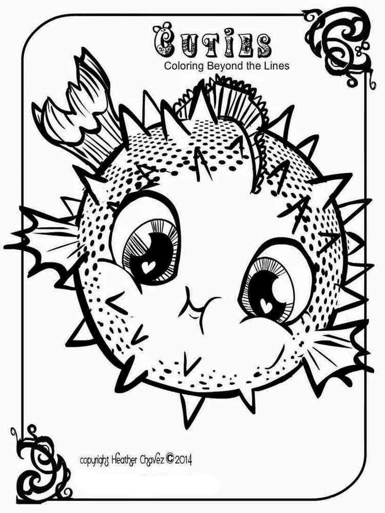 Cuties coloring pages free printable cuties coloring pages for Cuties coloring pages