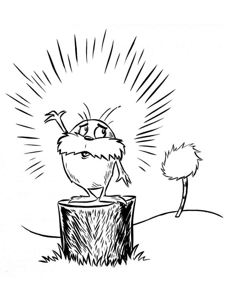 dr suess coloring pages 1