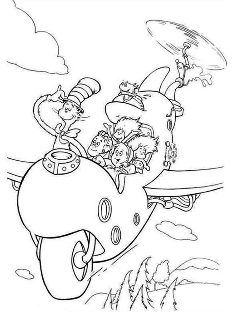 Dr Suess Coloring Pages 13