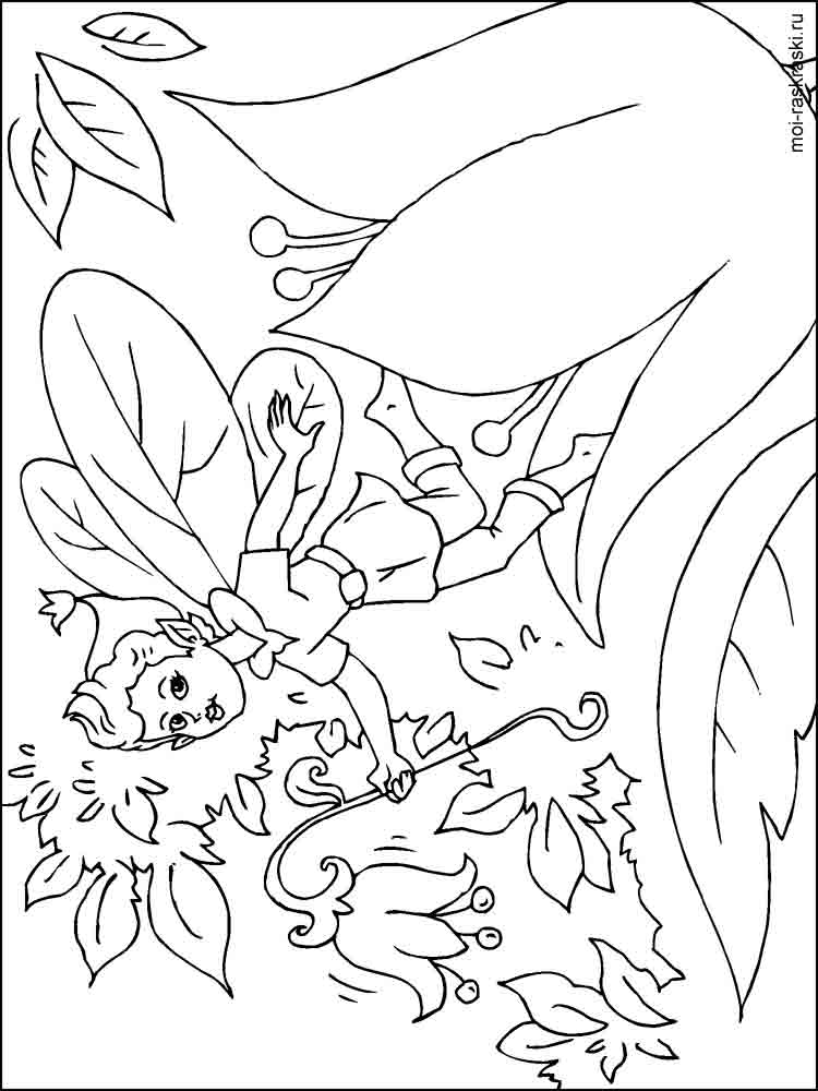 Fairy coloring pages. Download and print Fairy coloring pages.