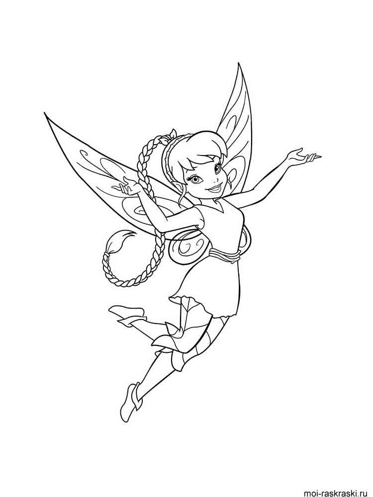 Fairy Coloring Pages Download And Print Fairy Coloring Pages