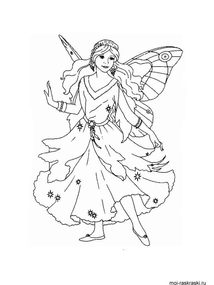 Fairy coloring pages Download
