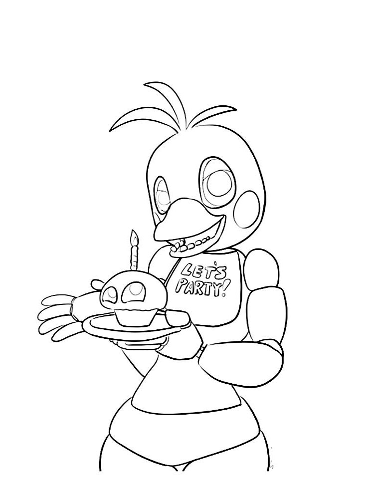 Fnaf Coloring Pages Download And Print Fnaf Coloring Pages