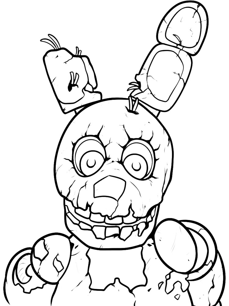 FNAF coloring pages. Download and print FNAF coloring pages