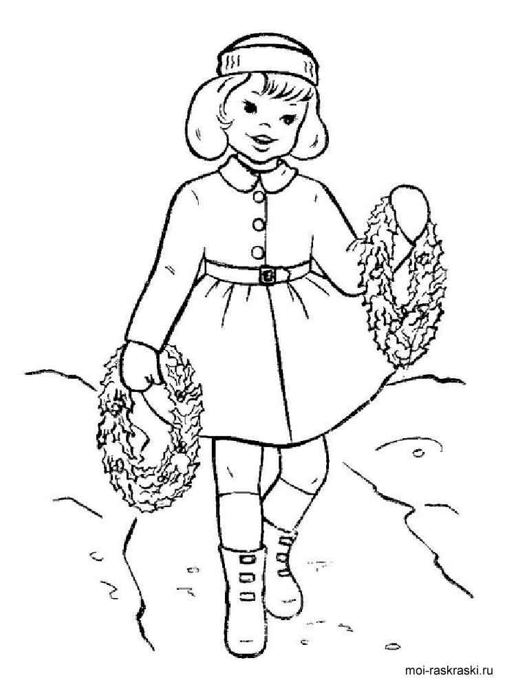 girls favorite coloring pages - photo#17