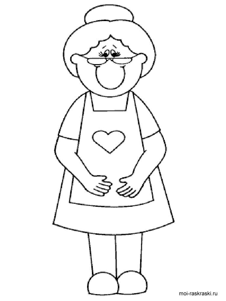 Grandma coloring pages. Free Printable Grandma coloring pages.