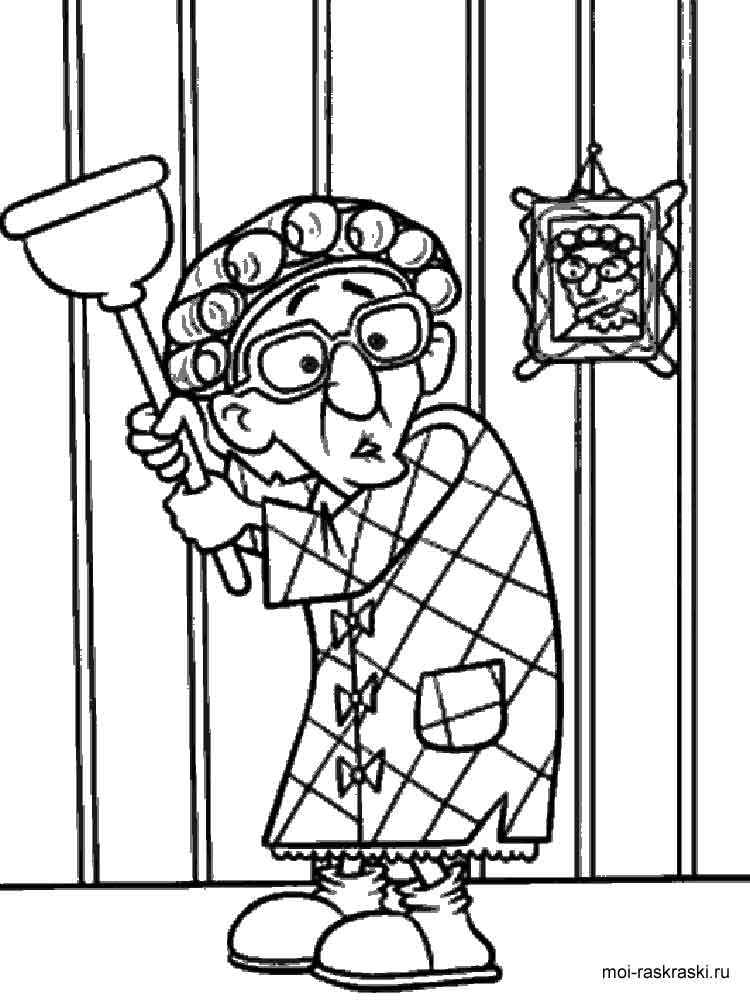 grandma coloring pages printable - photo#18
