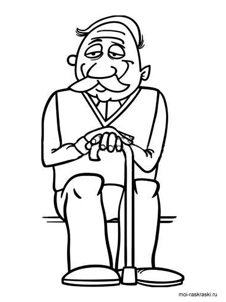 Grandpa Coloring Pages Free Printable Grandpa Coloring Pages Coloring Pages For Your And