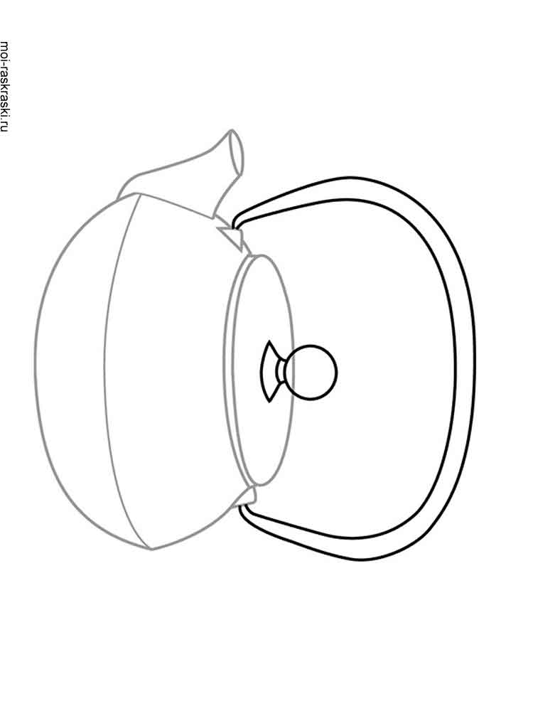 kettle coloring pages free printable kettle coloring pages