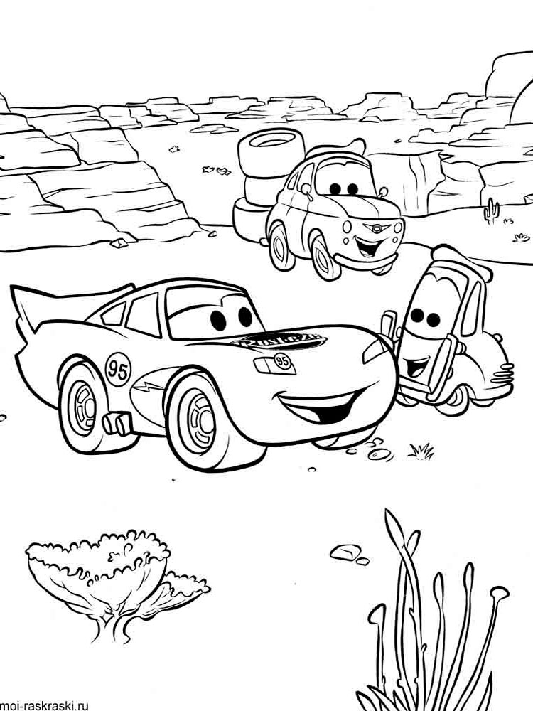 Lightning McQueen Coloring Pages Free Printable Lightning