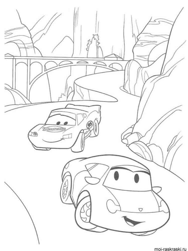 Lightning McQueen coloring pages. Free Printable Lightning ...