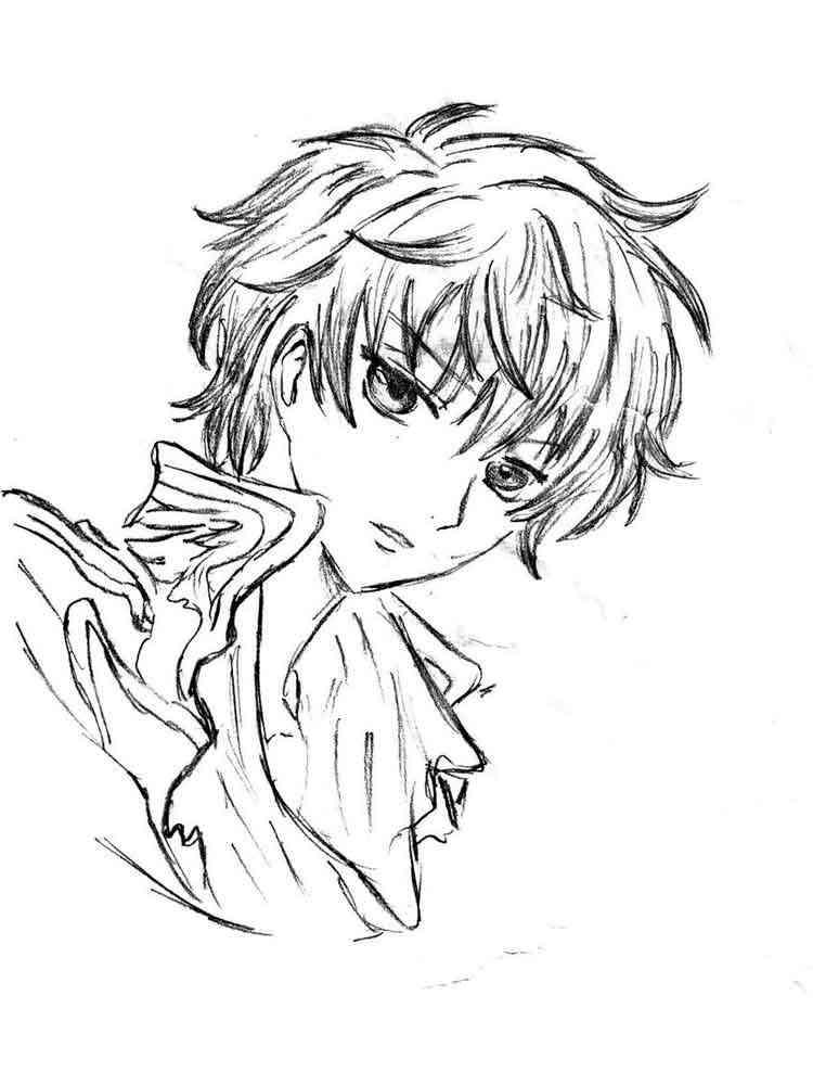Manga Coloring Pages Free Printable Manga Coloring Pages