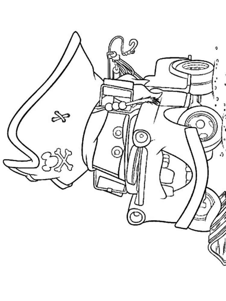 mater from cars coloring pages - photo#20