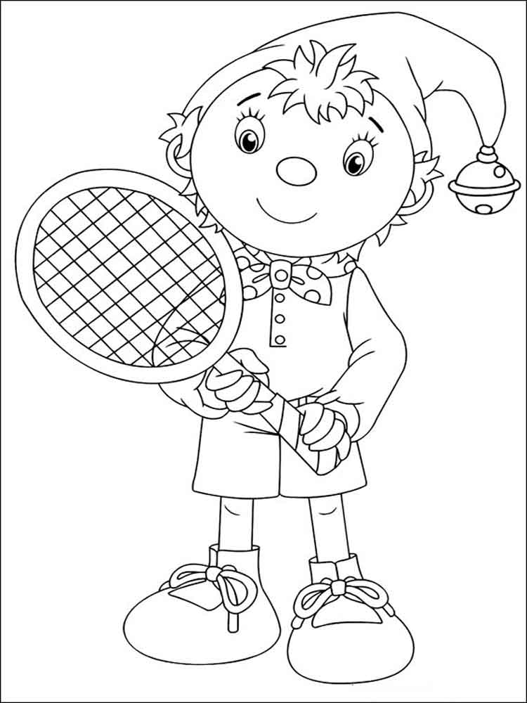 noddy coloring pages 12