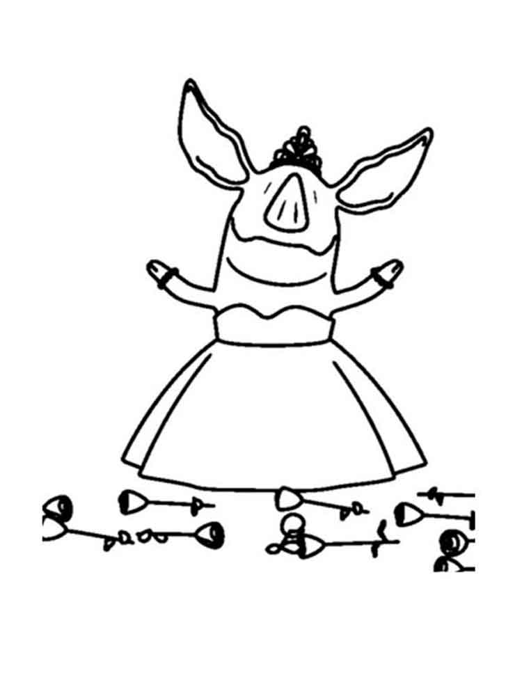 Olivia Coloring Pages Free Printable Olivia Coloring Pages