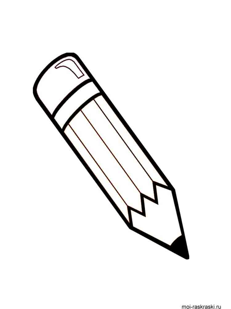 Pencil coloring pages Download and print Pencil coloring pages