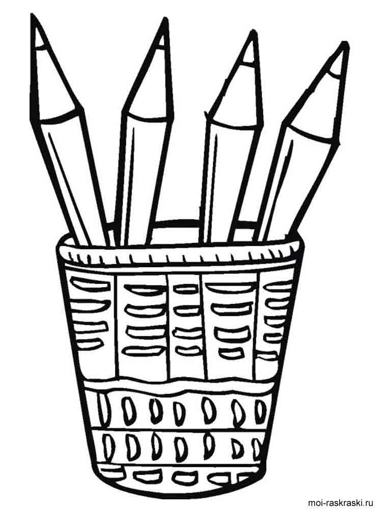 Pencil coloring pages. Download and print Pencil coloring ...