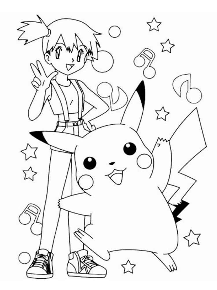 Pikachu coloring pages. Free Printable Pikachu coloring pages.