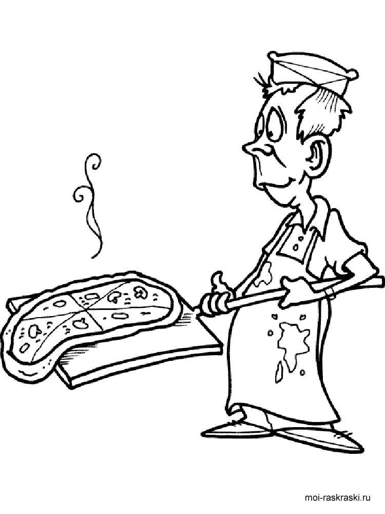 Pizza coloring pages free printable pizza coloring pages for Coloring pages of pizza