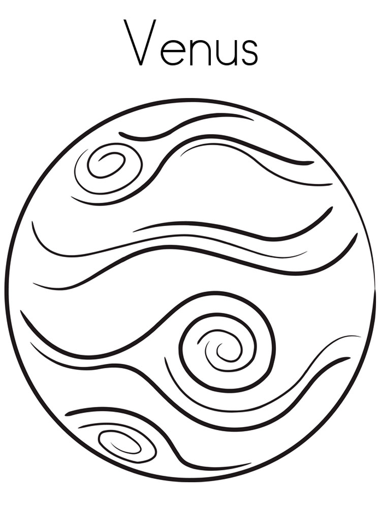planets coloring pages 16