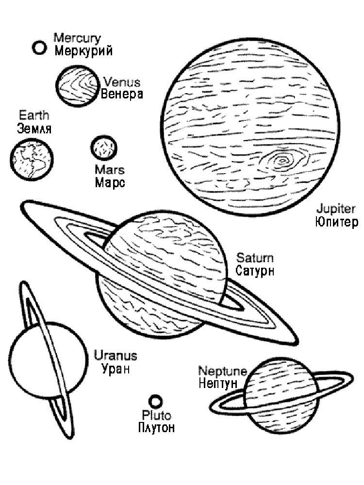 Planets Book for Early Readers  EnchantedLearningcom