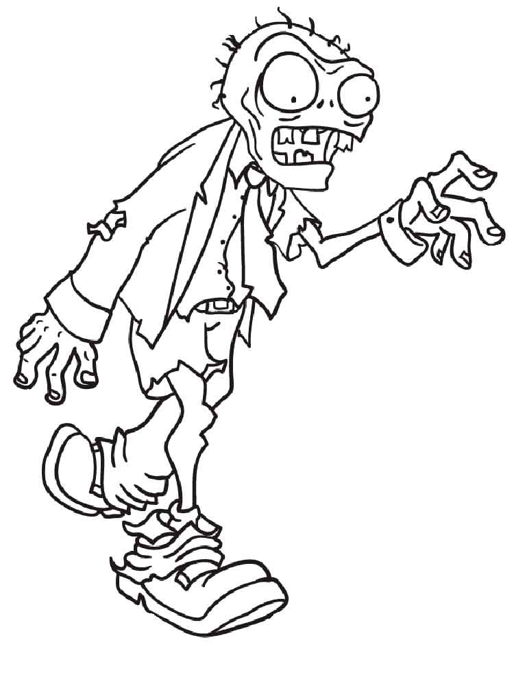 Plants vs. Zombies coloring pages. Free Printable Plants vs. Zombies ...