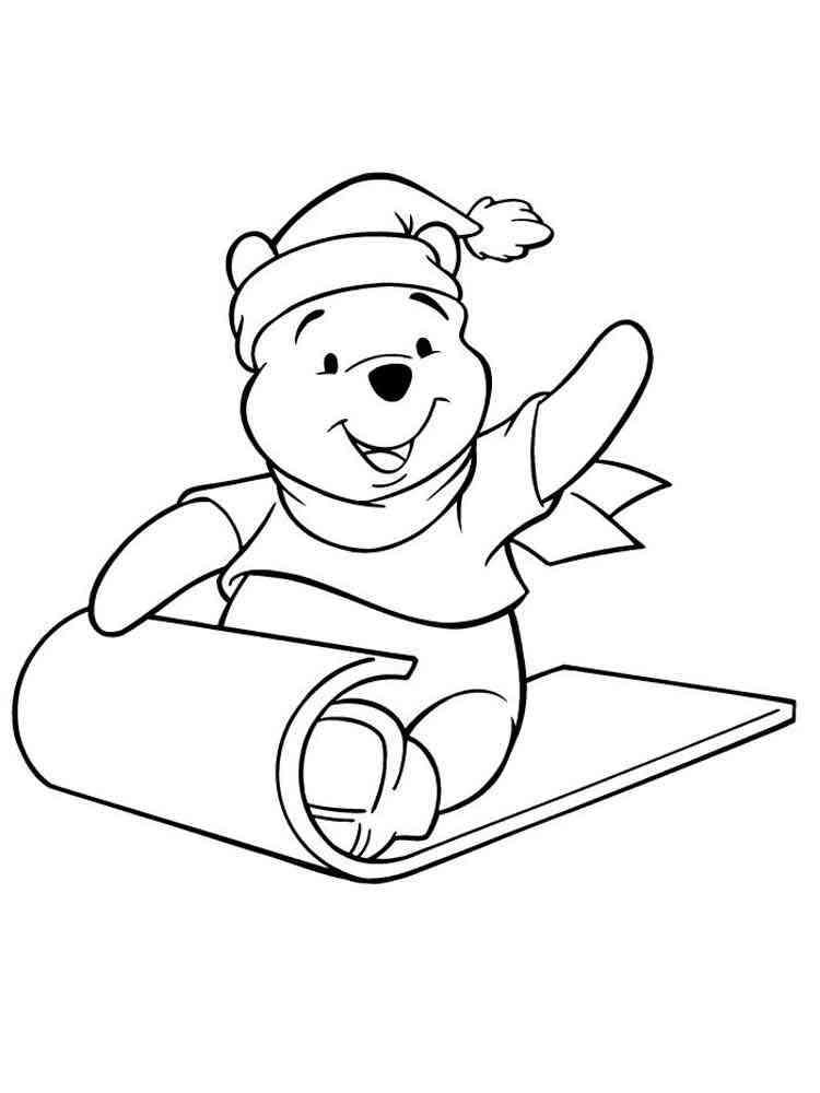 Pooh Bear coloring pages. Free Printable Pooh Bear ...
