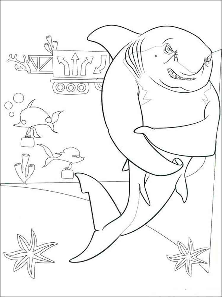 Shark Tale coloring pages. Free Printable Shark Tale coloring pages.