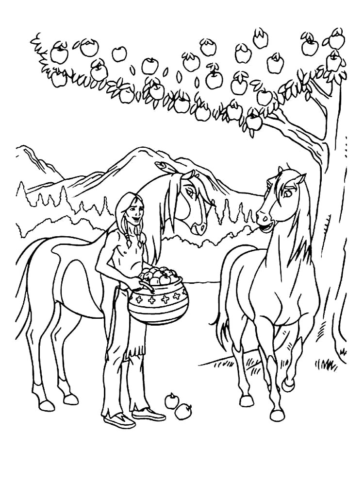 Spirit Coloring Pages Free Printable Spirit Coloring Pages