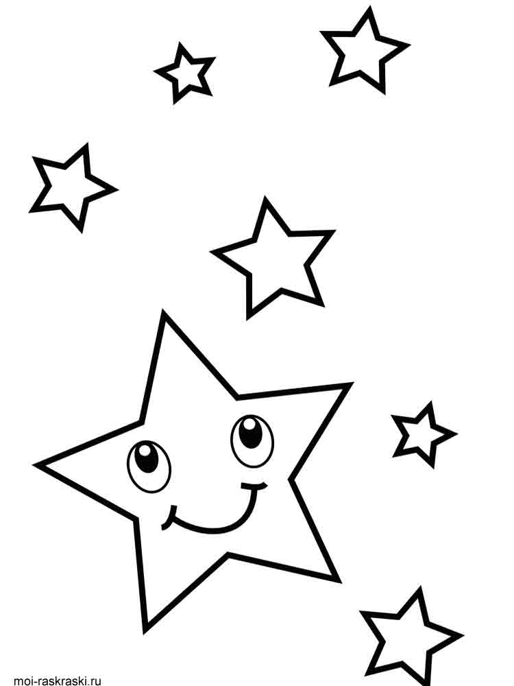 Free printable star coloring pages for Star coloring pages printable