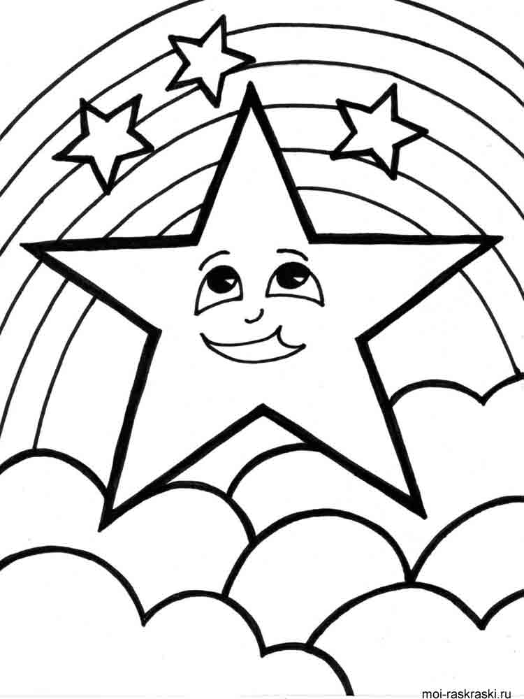 star coloring pages 3