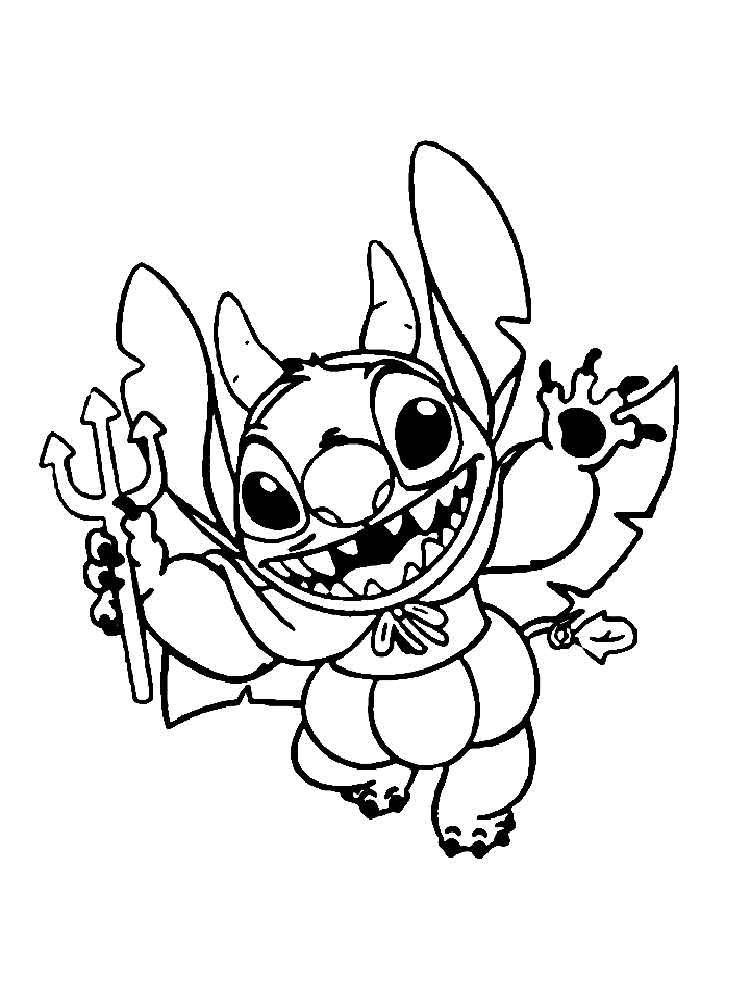 Stitch Coloring Pages Free Printable Stitch Coloring Pages