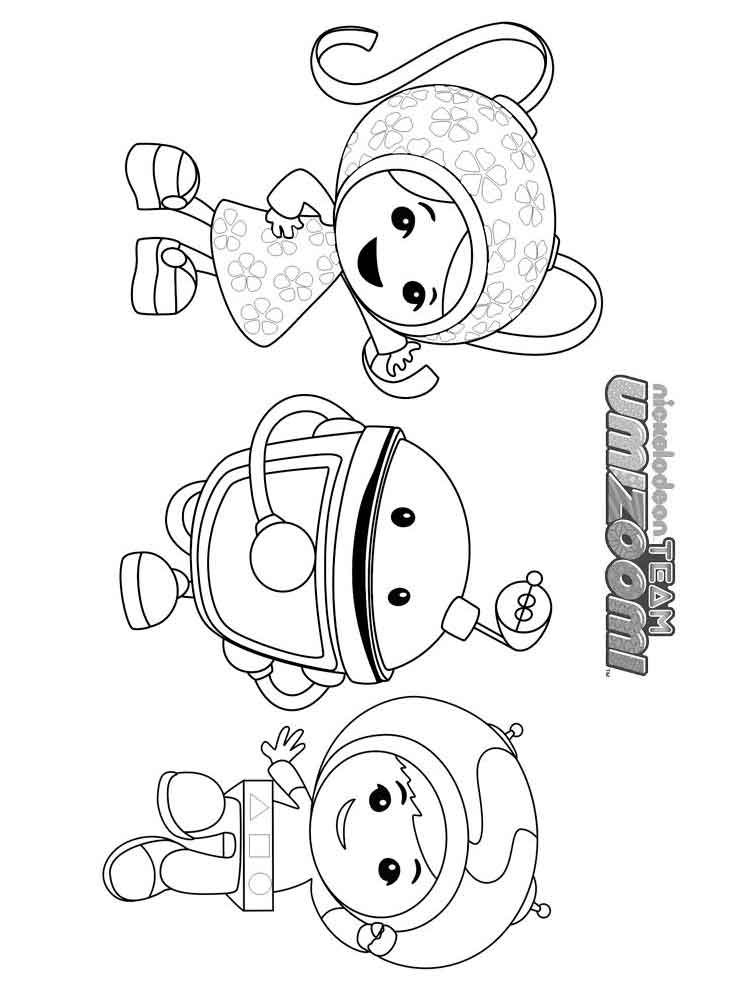 umizoomi coloring pages 1