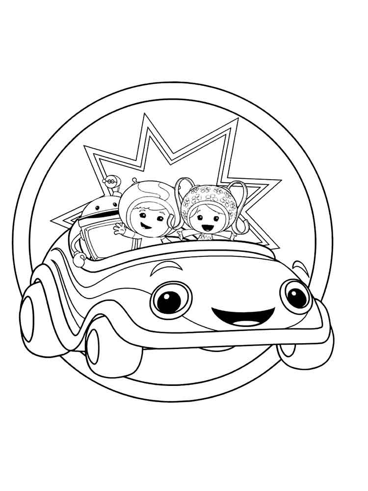 team umizoomi bot coloring pages proga info