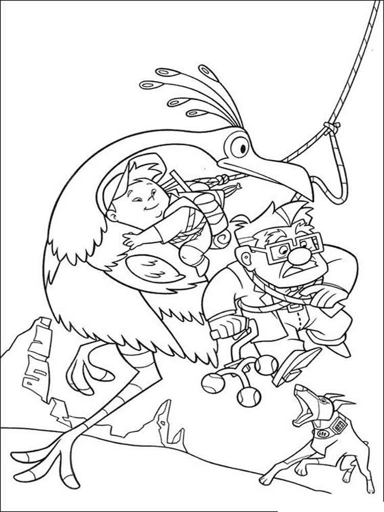 up coloring pages  free printable up coloring pages