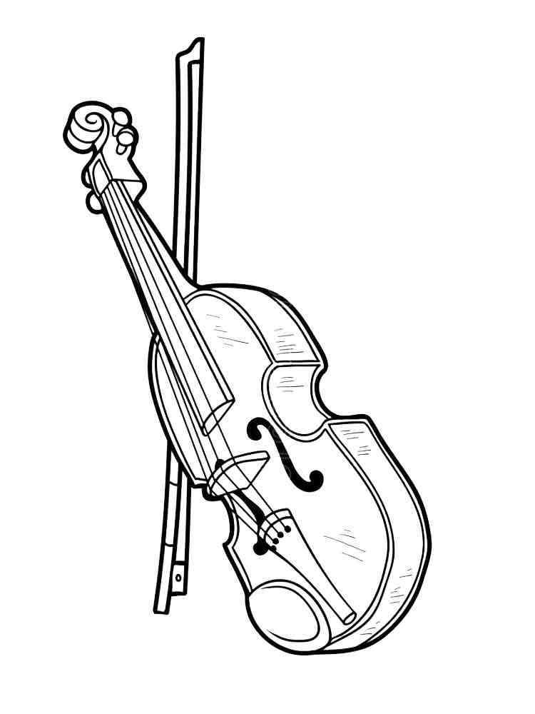 Violin coloring pages. Download and print Violin coloring ...