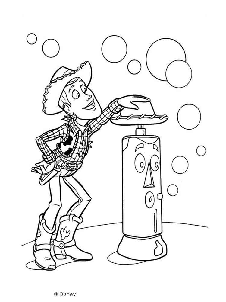 woody coloring pages  free printable woody coloring pages