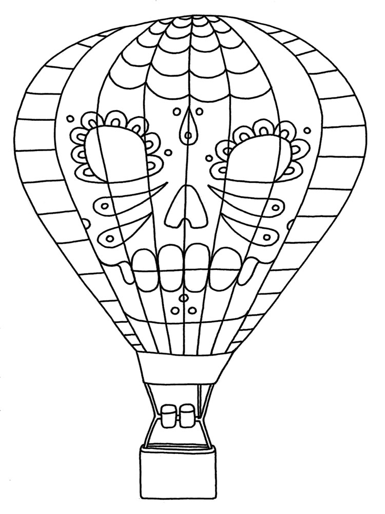 95 Birthday Coloring Pages Balloon Hellokitty With